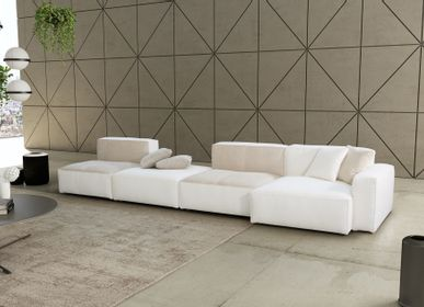 Leather goods - SOFA STONE - MITO HOME BY MARINELLI