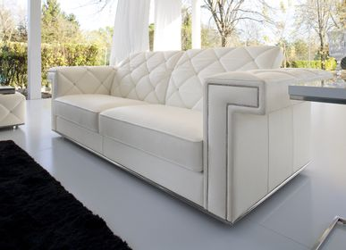Leather goods - SOFA RIGEL - MITO HOME BY MARINELLI