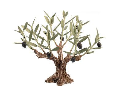 Pièces uniques - Olivier arbre avec 9 rameaux - L'OLIVIER FORGÉ