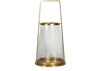 Objets de décoration - Grand photophore verre martelé Nora - CHEHOMA