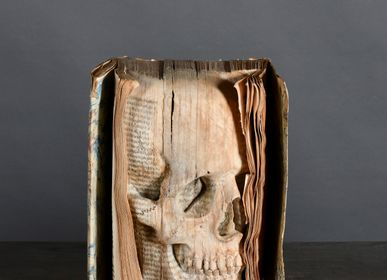 "Decorative objects - ""Memento Mori"" Book - ATELIERS C&S DAVOY"