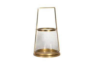 Objets de décoration - Photophore verre martelé Nora - CHEHOMA
