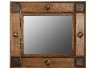 Mirrors - Big Alcazar mirror with golden details - CHEHOMA