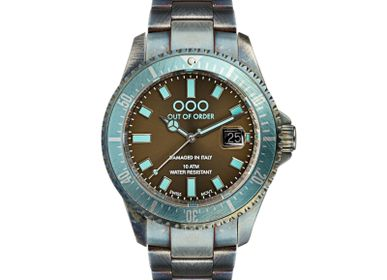 Watchmaking - TURQUOISE AND BROWN CASANOVA - OUT OF ORDER