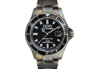 Montres et horlogerie - CASANOVA NOIR ET GRIS - OUT OF ORDER
