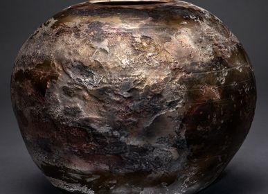 Ceramic - Meteor XXXX Sculpture - CLAIRE FRECHET