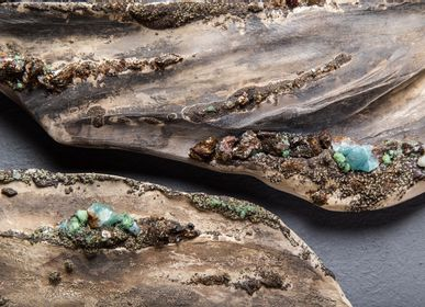 Other wall decoration - Mineral Reverie I  Sculpture - CLAIRE FRECHET