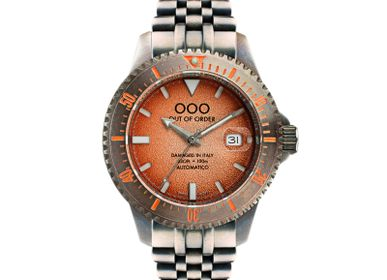 Watchmaking - ORANGE SWISS AUTOMATICO  watch  - OUT OF ORDER