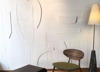 Wallpaper - Wallpaper White SPIRIT - PASCALE RISBOURG
