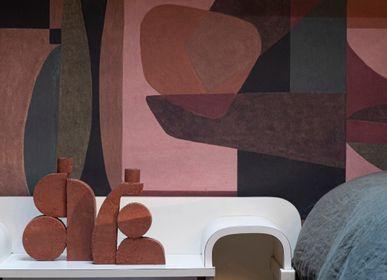 Wallpaper - Jouy wallpaper  - PASCALE RISBOURG