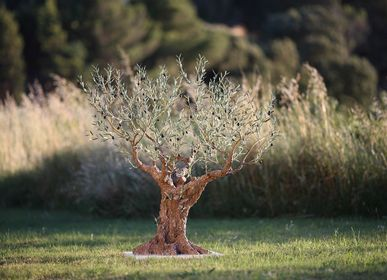 Objets de décoration - olivier 155 rameaux 1,30 M  - L'OLIVIER FORGÉ
