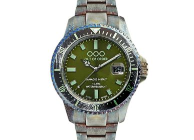 Watchmaking - WATCH CASANOVA GREEN - OUT OF ORDER
