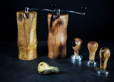 Tea and coffee accessories - coffee grinders and handles for tamper  - ATELIER PEV