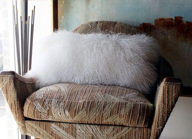 Cushions - Tibetan Sheepskin Cushions - FIBRE BY AUSKIN