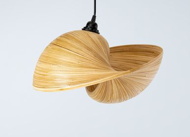 Decorative objects - VERSA pendant lamp, bamboo light - BAMBUSA BALI