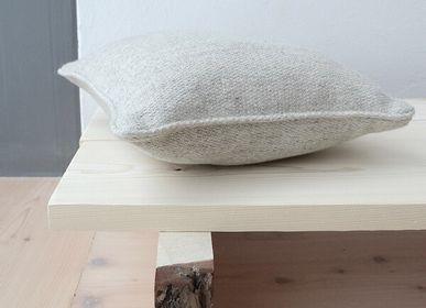 Fabric cushions - Punos Finnish lamb wool cushion - BONDEN