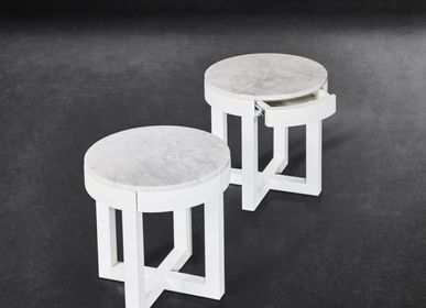 Night tables - CECILIA BEDSIDE TABLE - XVL HOME COLLECTION