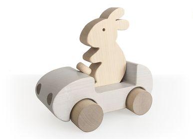 Toys - Bunny Car  - BRIKI VROOM VROOM