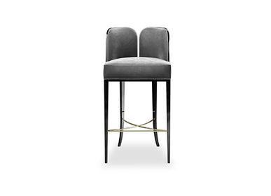 Chairs - COLETTE Bar Chair - MEMOIR ESSENCE