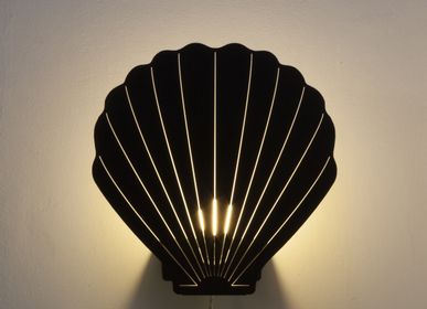 Steam rooms - THE SEASHELL LAMP 30CM - BLACK - GOODNIGHT LIGHT