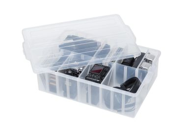 Organizer - Craft & Media Organizer Box with dividers - PEARL LIFE