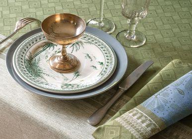 Linge de table textile - Collection Croisière sur le Nil - LE JACQUARD FRANCAIS
