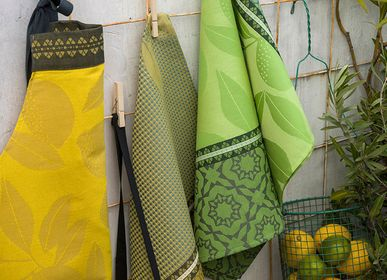 Tea towel - Collection Sous les lemonniers - Tea towel, Apron, Hand towels - Jacquard - LE JACQUARD FRANCAIS