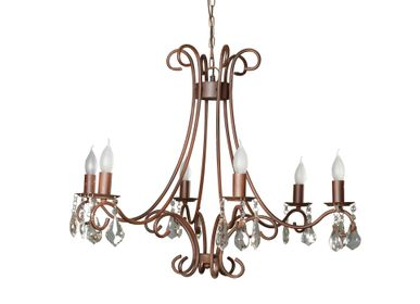 Hanging lights - Hanging chandelier Amadeus brown patina - CHEHOMA
