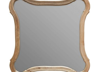 Mirrors - Carved wood mirror Deviate - CHEHOMA