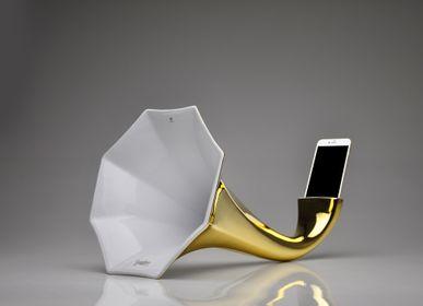 Enceintes et radios - haut-parleur en porcelaine SMART GRAMOPHONE - HOLARIA & KERAMPORZELLAN