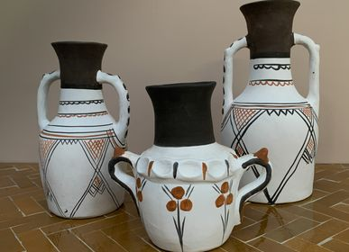 Pottery - Pottery vases and table lights Berber and Touareg - ZENZA