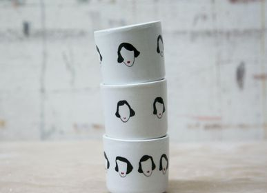 Everyday plates - HAND PAINTED CERAMICS - KISS KISS DESIGN - COOL COLLECTION
