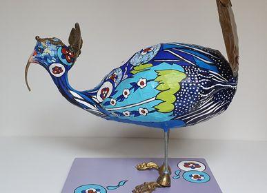 Sculptures, statuettes et miniatures - Un monde bleu - ARTBOULIET