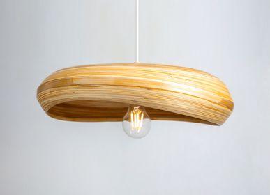 Spa - KEFANA Lampe suspendue à la main en bambou - BAMBUSA BALI