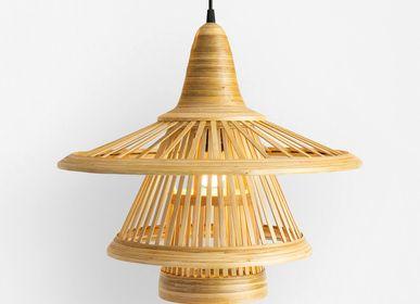 Design objects - KARIMATA bamboo handmade pendant lamp - BAMBUSA BALI