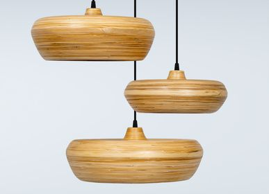 Hanging lights - TALANGO bamboo handmade pending lamp, hanging light for dinner room and living room - BAMBUSA BALI
