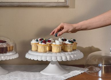 Formal plates - CAKE STAND WITH DOME  - GUZZINI