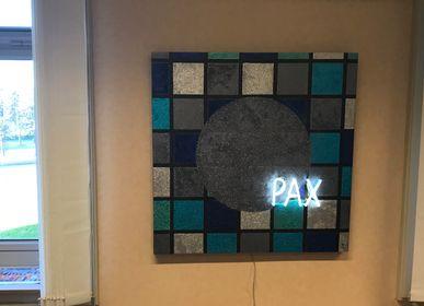 """Autres décorations murales - Tableau en néon """"PAX"""" - CAROLINE BAUP"""