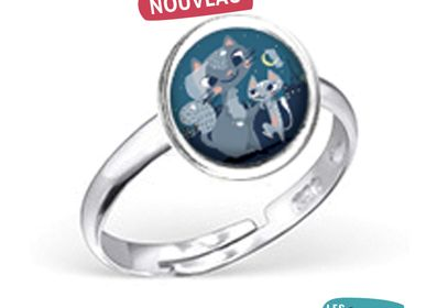 Jewelry - Ring Les Minis Famille Chats - LES MINIS D'EMILIE FIALA