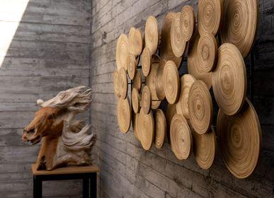 Autres décorations murales - ORNOMENTO décoration murale en bambou fait main - BAMBUSA BALI