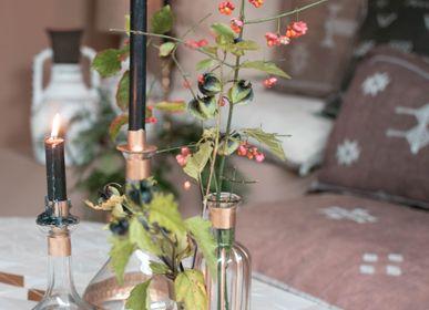 Vases - Bougeoirs et vase en verre - Réflexions et Stripes - ZENZA