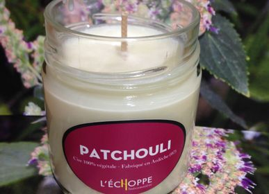Candles - Bougie parfumée Patchouli - L'ECHOPPE BUISSONNIERE