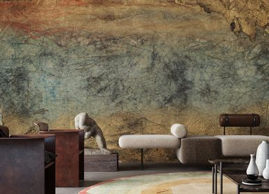 Wallpaper - Poni Natural Materials Effect Wallpaper - LA MAISON MURAEM