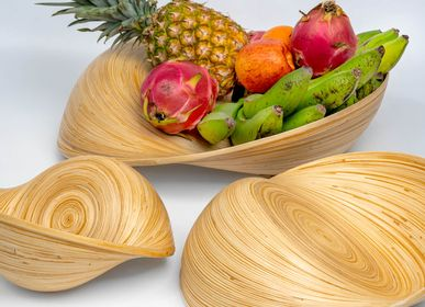 Trays - VERSA decorative bamboo artisan-crafted bowls  - BAMBUSA BALI