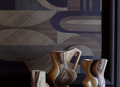 Wallpaper - Wallpaper Marquetry XXL - PASCALE RISBOURG