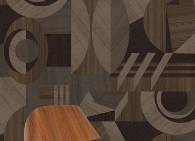 Wallpaper - Marquetry XXL Wallpaper - PASCALE RISBOURG