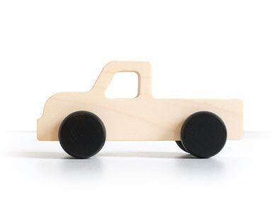 Toys - Maple wood car - BRIKI VROOM VROOM