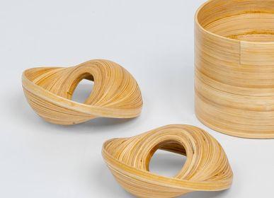 Decorative objects - VERSA handmade bamboo napkin ring for dinner table decor - BAMBUSA BALI
