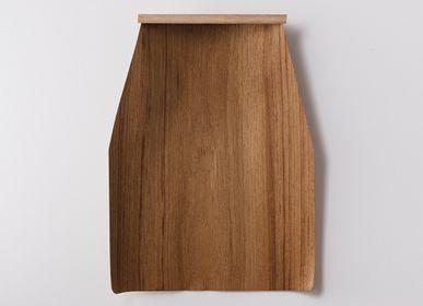 Decorative objects - Natural Wood Dustpan L - TAKADA TAWASHI
