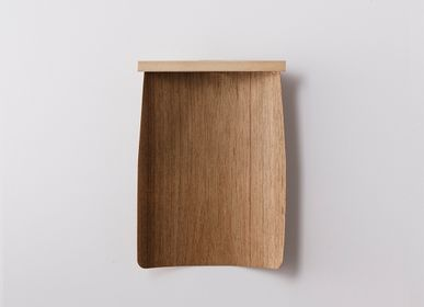 Decorative objects - Natural Wood Dustpan S - TAKADA TAWASHI